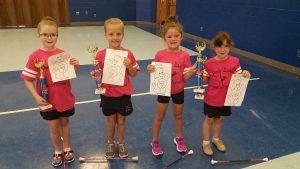Lady Bears baton team